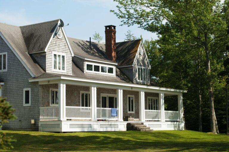 maison avec porche