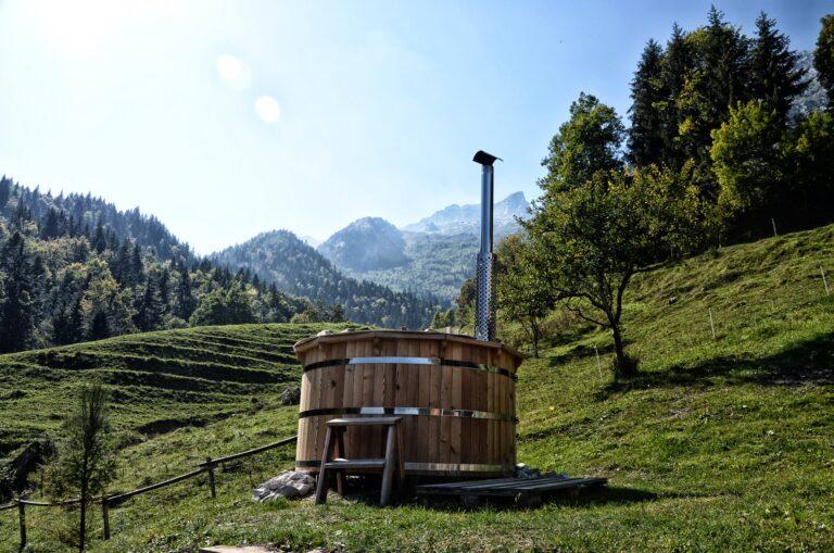 bain nordique jardin